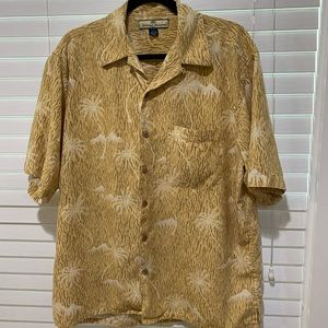 Tommy Bahama Silk Button Up - Size L